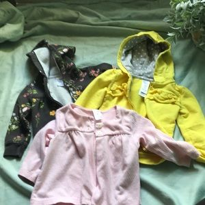 Carters 9 month jackets